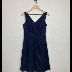 Lands End Navy Dress